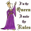 Queen Makes the Rules Plus Size & Supersize T-Shirts S M L XL 2x 3x 4x 5x 6x 7x 8x