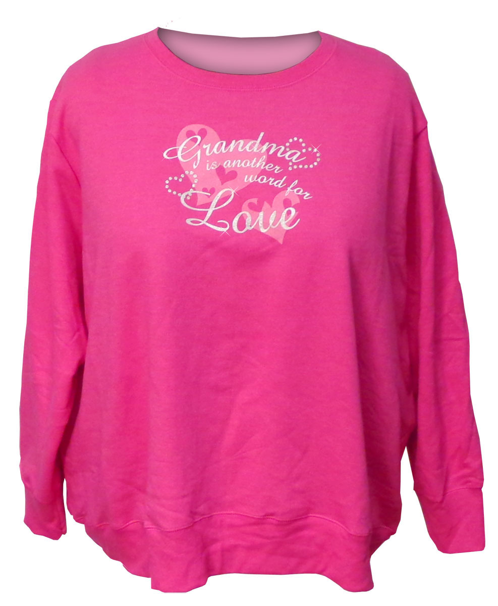sold out  final sale  bright pink grandma is another word