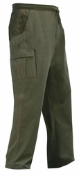 SOLD OUT! SALE! Olive Green Cargo Knockaround Plus Size Pants 8X