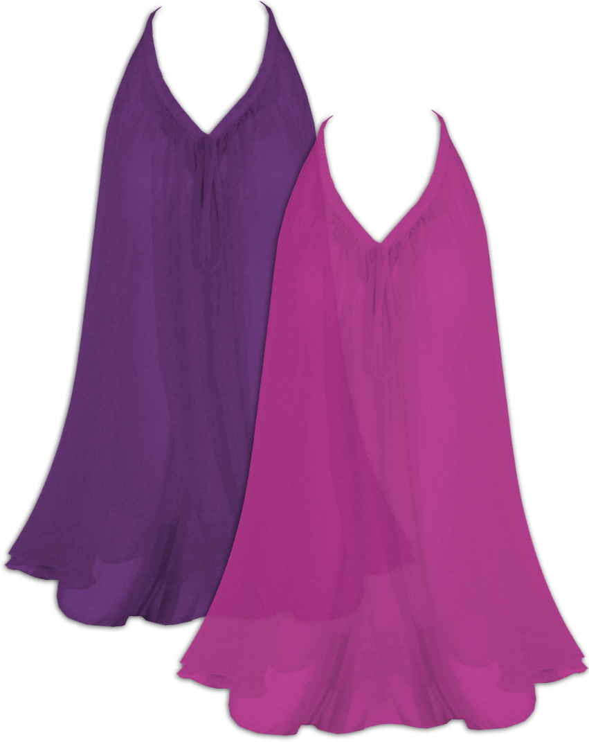 4dc53aa9a2b SOLD OUT! CLEARANCE! Plus Size Fuchsia Semi Sheer A-Line Overshirt ...