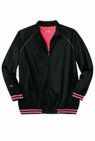 SOLD OUT! SALE! Black and Hot Pink Track Plus Size Jacket 4xT