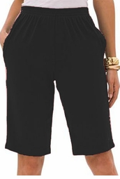 SOLD OUT! SALE! Black Plus Size Bermuda Shorts  5x