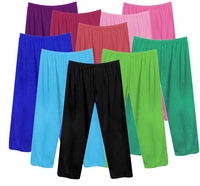 CLEARANCE! Poly/Cotton Plus Size & Supersize Straight, Long Tapered or Capri Pants 0x 1x 2x 3x 6x 7x
