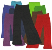 SALE! Plus Size & Supersize Velvet Wide Leg Palazzo Pants Standard or Tall XL 0x 3x 5x 6x Turquoise Green Purple Black