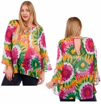 SALE! Bright Floral Plus Size Top 5x