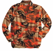 SOLD OUT! Camo Plus Size Fleece Jacket
