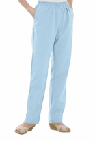 SALE! Cloth Calcutta Light Blue Ribbed Plus Size Pants 2x 3x 4x 6x 7x