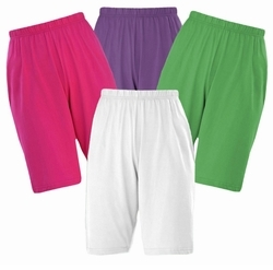 CLEARANCE! Cotton Knit Elastic Waist Shorts Plus Size Supersize  Many Colors!!! 0x 6x 7x 8x
