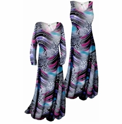 SOLD OUT!! Customizable! New! Pretty Lightweight Blue Pink Black White Slinky Plus Size & Supersize Straight or Cascading A-Line or Princess Cut Dresses & Shirts, Jackets, Pants, Palazzo's or Skirts Lg XL 0x 1x 2x 3x 4x 5x 6x 7x 8x 9x