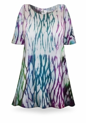 SALE! El Nino Tie Dye Supersize X-Long Plus Size T-Shirt + Add Rhinestones 0x 1x 2x 3x 4x 5x 6x 8x 9x