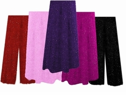 CLEARANCE! Gorgeous Plus Size & Supersize Glimmer Sweater Pants & A-Line Skirts Lg 1x 5x  Purple - Gray - Pink