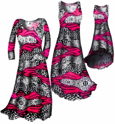 SOLD OUT!!!!!!!!!Sale!!! HOT Pink & Black Animal Print Slinky Plus Size & Supersize 4X