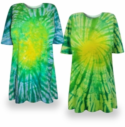 CLEARANCE! Irish Meadows Tie Dye Plus Size T-Shirt 2xl 4xl