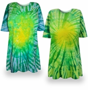 SOLD OUT! CLEARANCE! Irish Meadows Tie Dye Plus Size T-Shirt 2xl 4xl