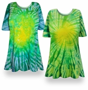 SALE! Irish Meadows Tie Dye Plus Size & Supersize X-Long T-Shirt 0x 1x 2x 3x 4x 5x 6x 7x 8x