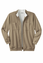 SOLD OUT! Khaki Thermal Lined Fleece Plus Size Jacket 5x 5xT