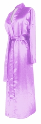 SOLD OUT! CLEARANCE! Lavender Lightweight Plus Size Satin Robe 5x