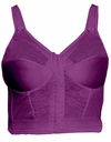 SOLD OUT! Longline Wirefree Plus Size Deep Magenta Bra