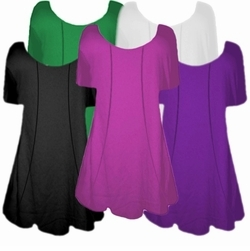 SALE! Many Colors! Plus Size Supersize Princess Cut Shirts! 1x