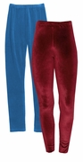 SALE! Marine Blue or Burgundy Velour Plus Size Pants Leggings 4x