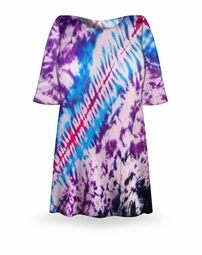 SALE! Morning Glory Tie Dye Plus Size T-Shirt  L XL 2x 3x 4x 5x 6x