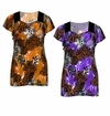 SALE! Purple or Brown Plus Size Slinky Top 4x 5x 6x