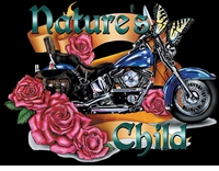 SALE! Natures Child Motorcycle Plus Size & Supersize T-Shirts S M L XL 2x 3x 4x 5x 6x 7x 8x