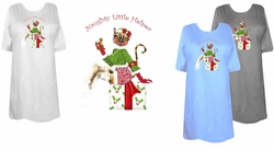 SOLD OUT! FINAL SALE! Naughty Little Helper Plus Size & Supersize T-Shirts 6xl