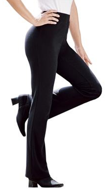 0117b428e7304 SOLD OUT! SALE! Navy Tall Boot Cut Ponte Knit Plus Size Pant Size 5x ...