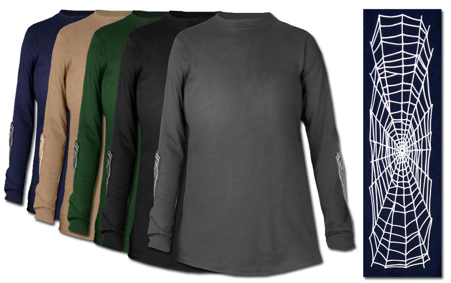 Sold Out Spiderweb Plus Size Long Sleeve T Shirts 2xl 3xl 4xl