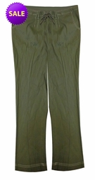 SOLD OUT! Olive Green Canvas Drawstring Waistband Four Pockets Wide Leg Pant Plus Size 4x