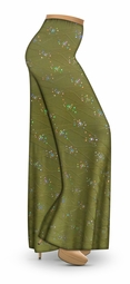 SOLD OUT! CLEARANCE! Olive Grove Slinky Print Palazzo Pants! 2x 4x