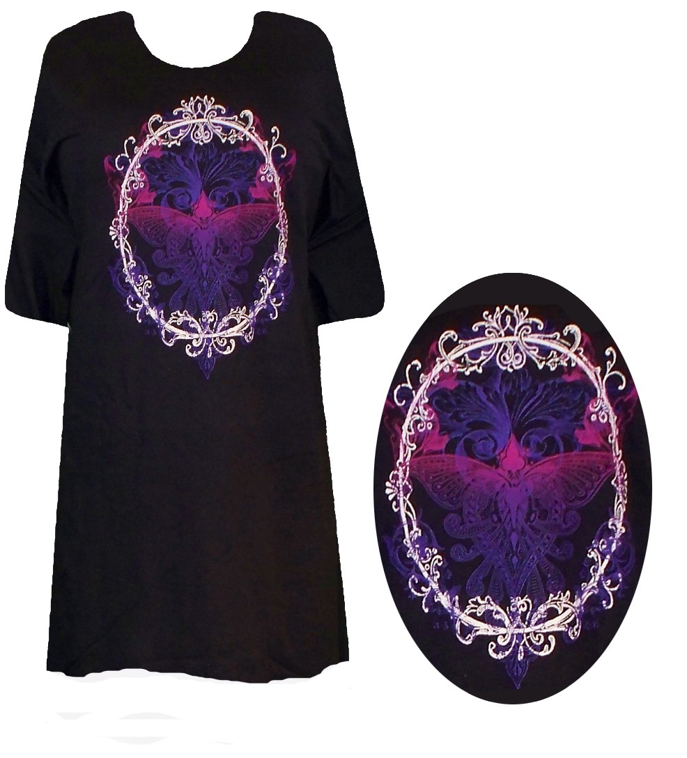 Sale oval butterfly plus size supersize t shirts s m l for 3x shirts on sale