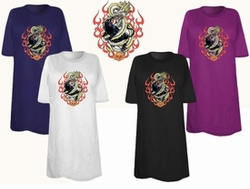 SOLD OUT! FINAL SALE! Panther Dragon Plus Size & Supersize T-Shirts 6x