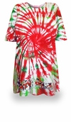 SALE! Peppermint Swirl Tie Dye Plus Size T-Shirt + Add Rhinestones L XL 2x 3x 4x 5x 6x