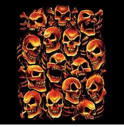 SALE! Pirate Skulls Plus Size & Supersize T-Shirts  S M L XL 2x 3x 4x 5x 6x 7x 8x (All Colors)