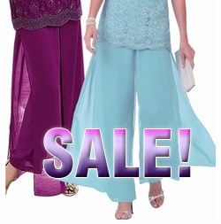 SOLD OUT! FINAL SALE! Plus Size Fabulous and Flowy Georgette Pants Powder Blue or Berry Purple Standard or Petite 26w 26wp 28w 28wp 30w 30wp 32w