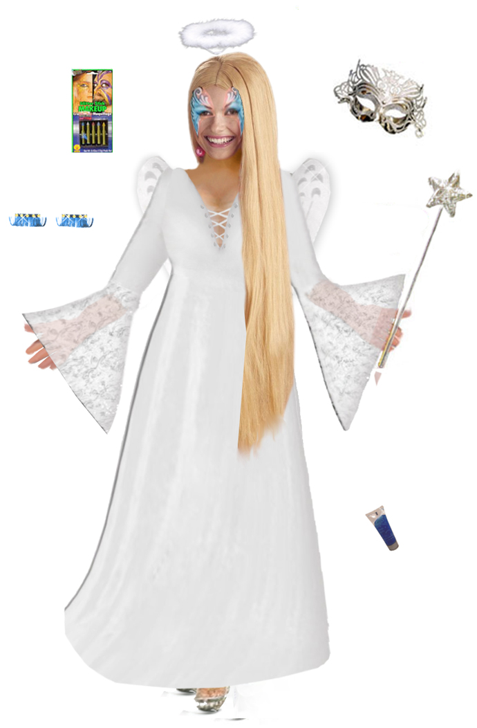 Plus Size Fairy Costume - Plus Size Angel Costume Supersize Light Fairy Angel Costume + Accessory Kit! Lg XL 1x 2x 3x 4x 5x 6x 7x 8x 9x  sc 1 th 277 & SALE! Plus Size Fairy Costume - Plus Size Angel Costume Supersize ...