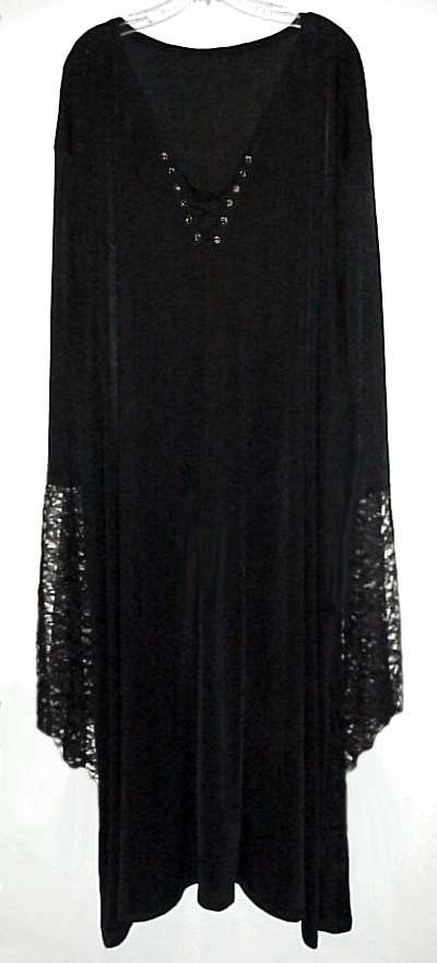 SALE! Plus Size Gothic Witchy / Vampiress / Vampire Bell ...