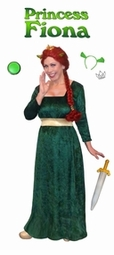 SOLD OUT! SALE! Plus Size Princess Fiona Costume from Shrek! Plus Size And Supersize Halloween Costume + Add Accessories! 0x