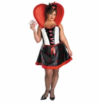SOLD OUT! SALE! Plus Size Queen Of Hearts Costume 18/20