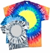 FINAL CLEARANCE SALE! Plus Size Short Sleeve Circle Tie Dye T-Shirts 2x 3x