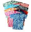 FINAL CLEARANCE SALE! Plus Size Short Sleeve Burst Tie Dye T-Shirts 2x