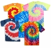 FINAL CLEARANCE SALE! Plus Size Short Sleeve Swirl Tie Dye T-Shirts 3x 4x