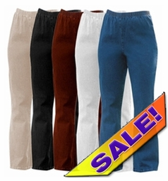 SALE! Plus Size & Supersize Stretchy Cotton-Lycra Mock Denim Jeans 2x