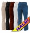 CLEARANCE! Plus Size & Supersize Stretchy Cotton-Lycra Mock Denim Jeans 2x