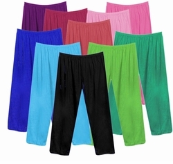 CLEARANCE! Poly/Cotton Pants & Capri's Plus Size Supersize 0x 1x 2x 3x  Many Colors!