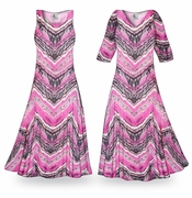 SALE! Prairie Smoke Slinky Print Plus Size & Supersize Dresses 0x