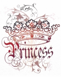 SOLD OUT! Pretty Princess Crown Plus Size & Supersize T-Shirts 5XL
