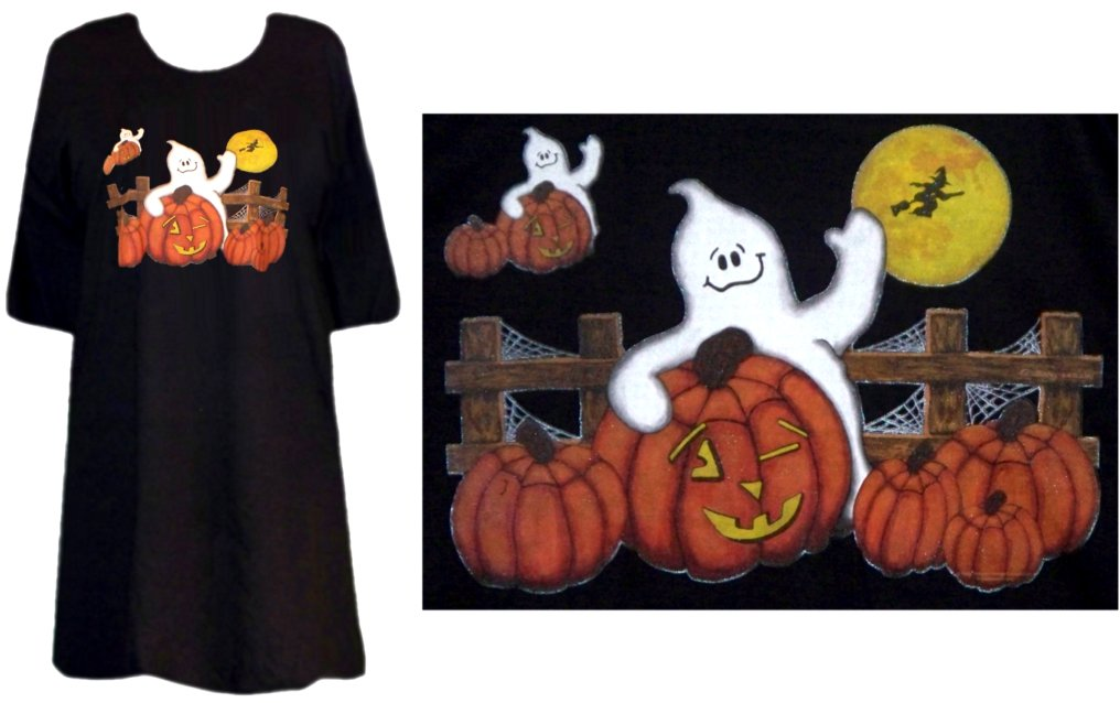 pumpkin ghost halloween plus size supersize t shirts s m l xl 2x 3x 4x 5x 6x 7x 8x many colors